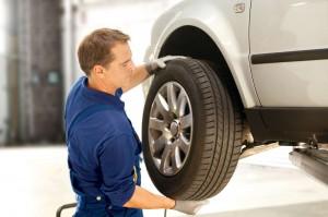 Reifenwechsel und Montage